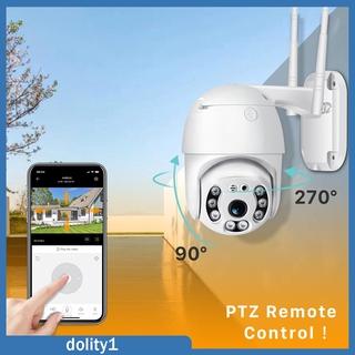[DOLITY1] HD PTZ WiFi Security Camera Surveillance IP CCTV Dome Camera Two Way Audio