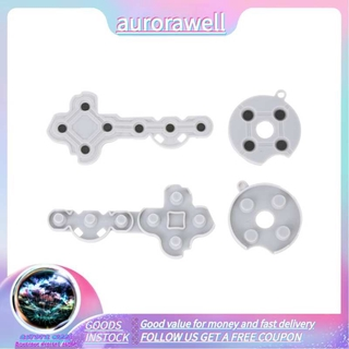 Aurorawell 10PCS Conductive Rubber Contact Pad Buttons for Xbox 360 Game Controller Gamepad