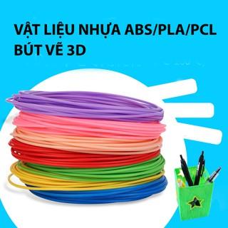 Combo 5 màu ABS/PLA dành cho bút vẽ 3D