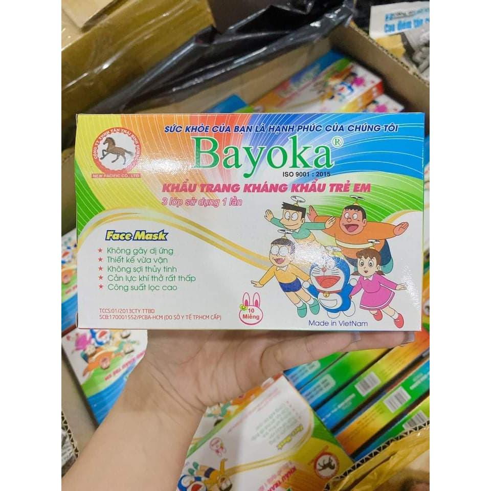 Khẩu trang y tế em bé doremon 10 cái/túi