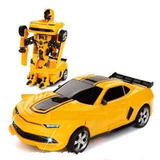 Xe ô tô biến hình thành Robot cho bé[Tmarkvn]