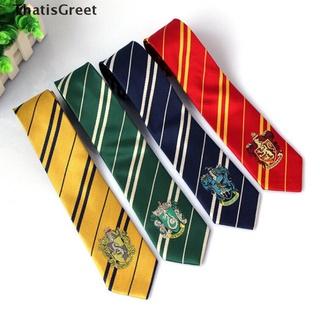 (thsgrt) 1Pc High quality Harry Potter Gryffindor Slytherin Hufflepuff Ravenclaw necktie [HOT SALE]