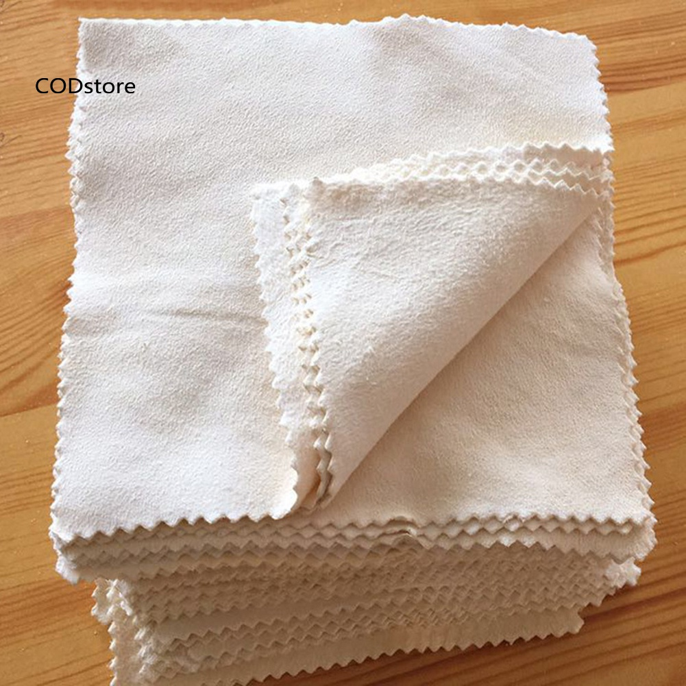 CE*Square Soft Chamois Cleaning Cloths for Lens Glasses Camera Computer Screen
