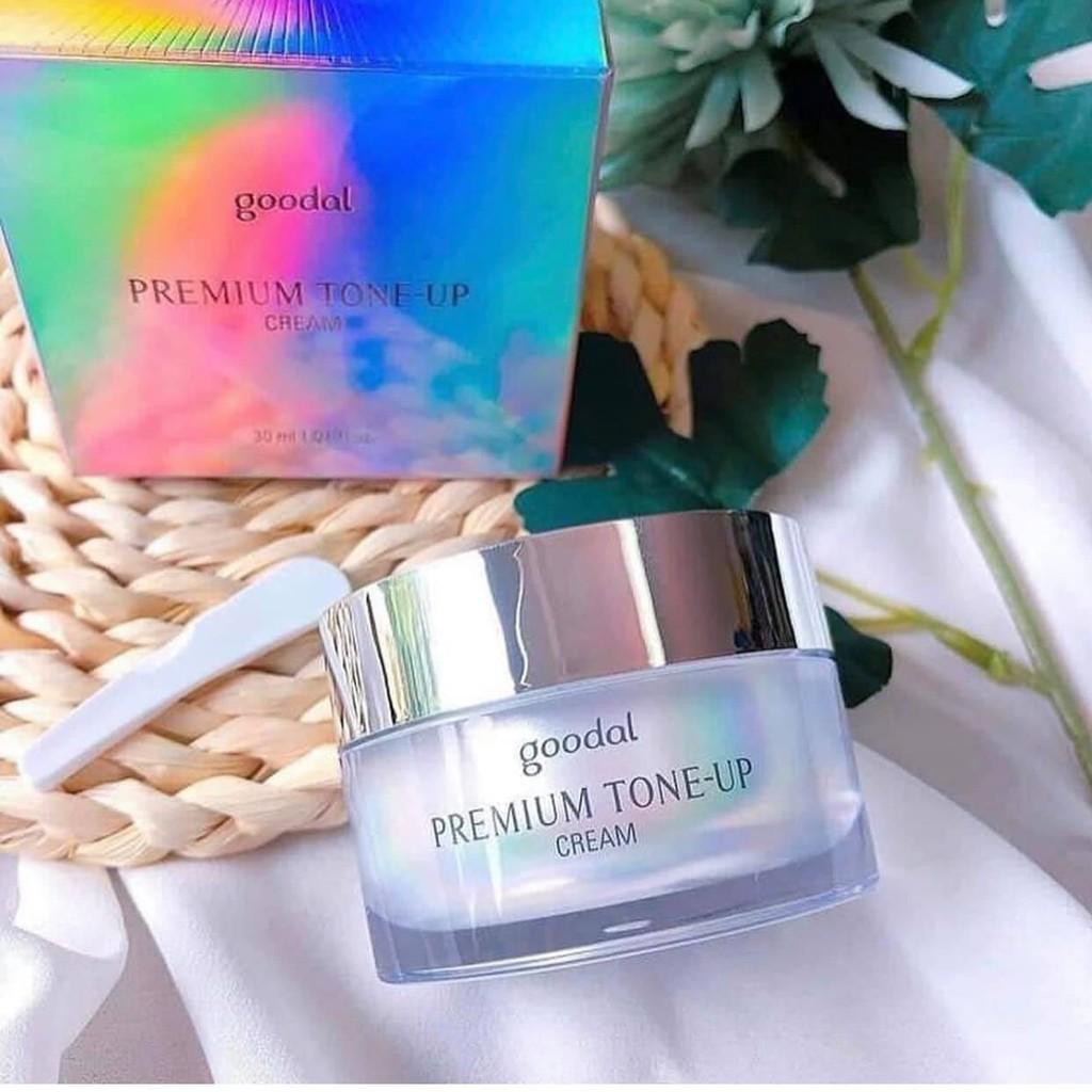 [Chính Hãng] Kem Ốc Sên Trắng Da Goodal Premium Snail Tone Up Cream 30ml Hàn Quốc 🐌