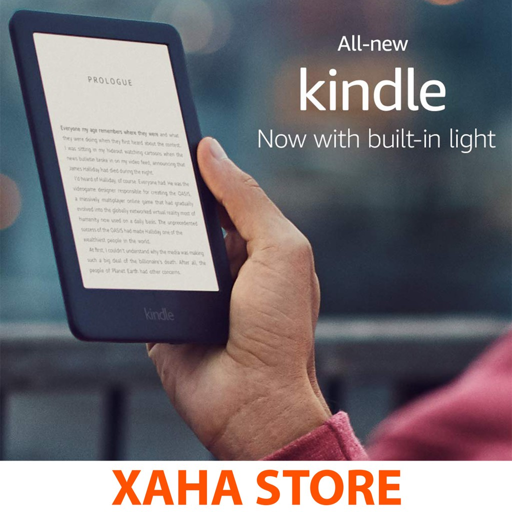 Máy đọc sách All-new Kindle 10th Generation - 2019 (4GB/8GB) NEW 100%