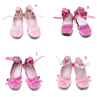♑BEW♑ Handmade Boots Shoes for 18″American Girl Journey Doll Clothes Accessories [OL]