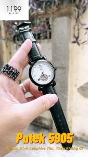 [QUÀ TẶNG] Đồng hồ cơ - Đồng Hồ Dây Da Nam Cao Cấp Hàng Chuẩn Bảo Hành 6 Tháng Siêu Phẩm 50.89.33IZ - 1199 Watches