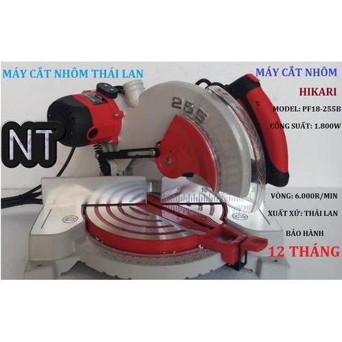NT - Máy cắt nhôm đa góc đa điểm hikari kèm lưỡi cắt sharp - PF18-255B+1 - T26542tger