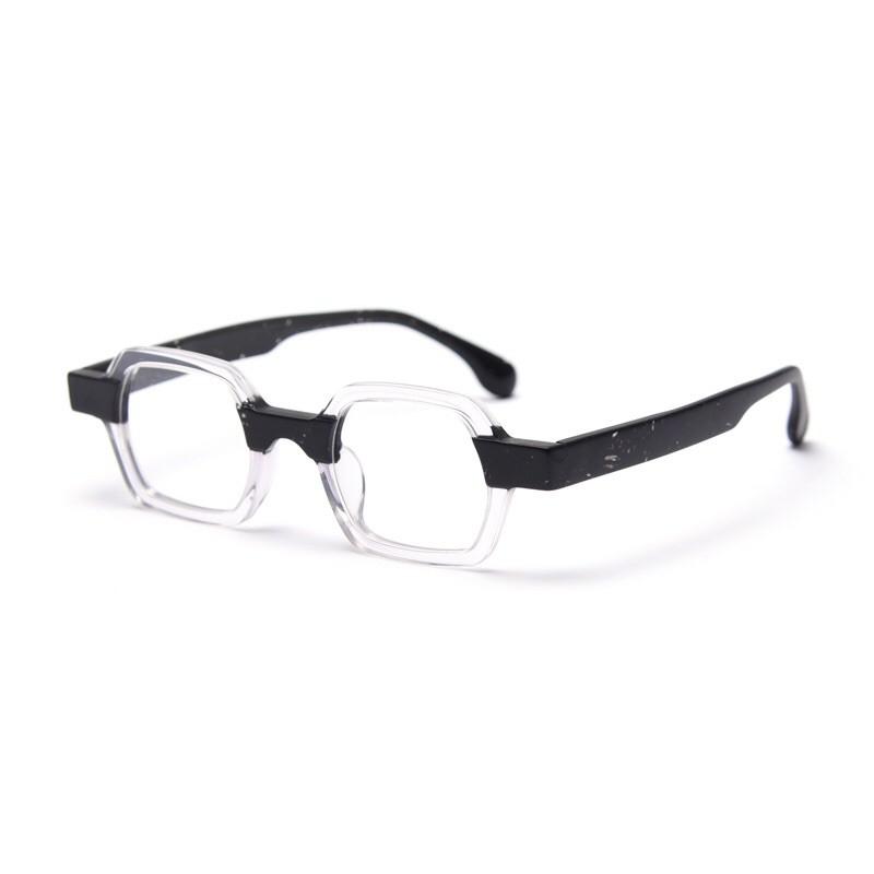 Gọng kính Posesion Kubo phong cách retro mắt kính nam Acetate