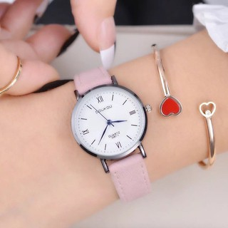 Đồng hồ nữ Doukou chính hãng kim xanh thời trang thanh lịch thumbnail