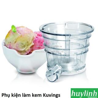 [Mã ELMS5 giảm 7% đơn 300K] Phụ kiện cối làm kem cho máy ép trái cây Kuvings C7000 E7000 EV820 và nhiều loại