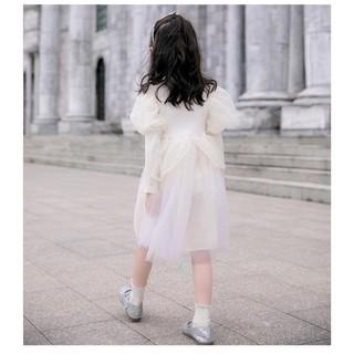 váy len phủ voan cực đẹp