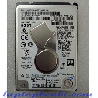 Ổ cứng laptop 1TB (1000GB) Slim Hitachi HGST thumbnail