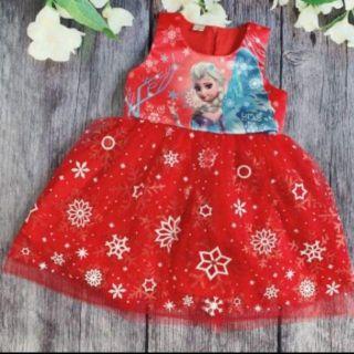 Váy công chúa Elsa hàng thiết kế cho bé 12-26 kí