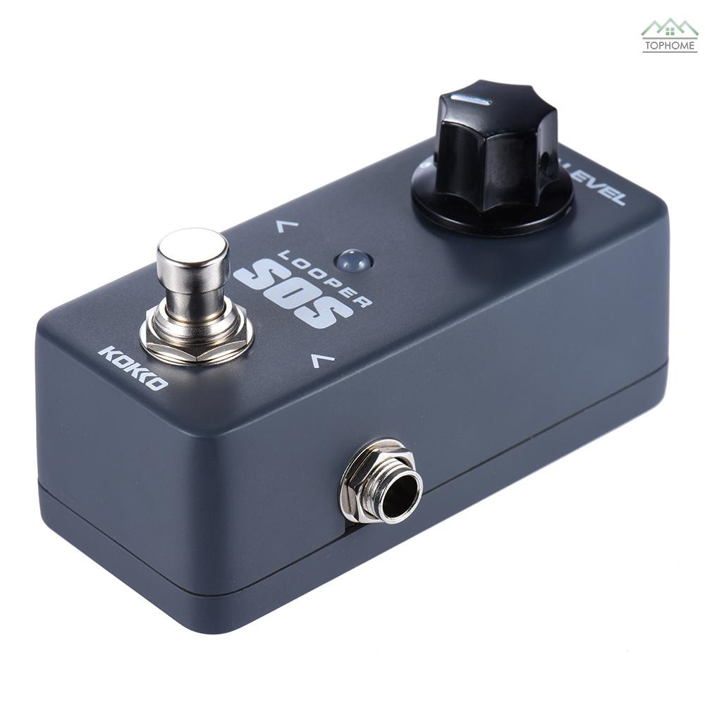 ★KOKKO FLP2 Mini SOS Looper Pedal Portable Guitar Effect Pedal