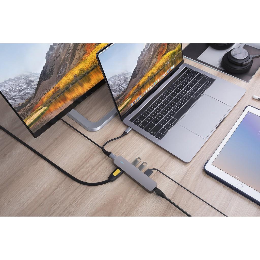[Mã SKAMPUSHA7 giảm 8% đơn 250k]Cổng chuyển HyperDrive 4K HDMI 6-IN-1 USB-C HUB