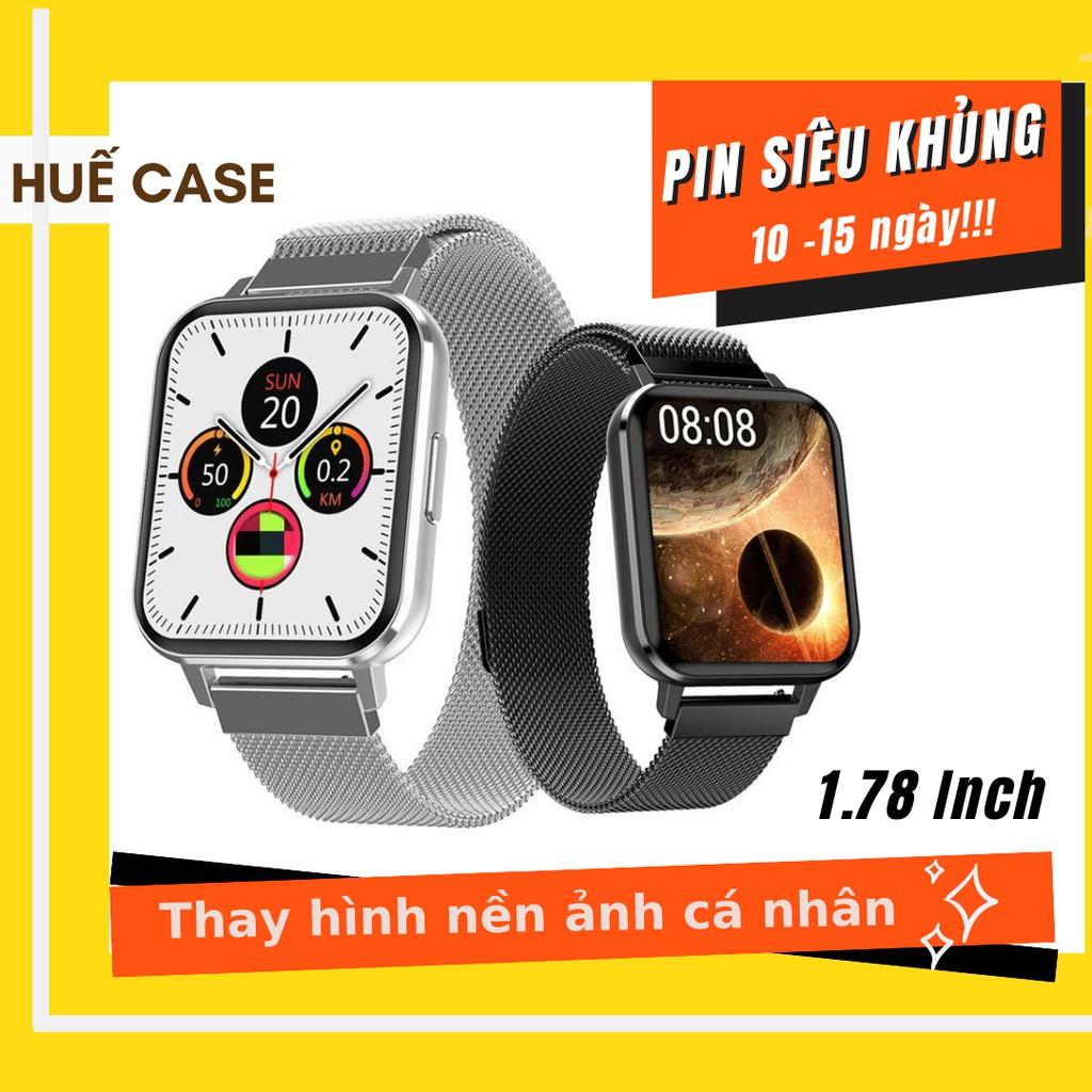 Đồng hồ thông minh 💖 FREESHIP 💖 Giảm 15k Đồng hồ nhập [ DONG15 ] 💖 Smartwatch tràn viền 1.78' như apple watch