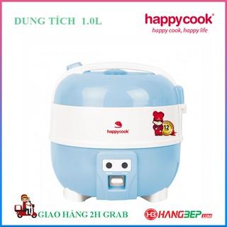 Nồi cơm điện nắp gài Happycook 1.0 lít HC-100 - Bảo hành chính hãng 12 tháng