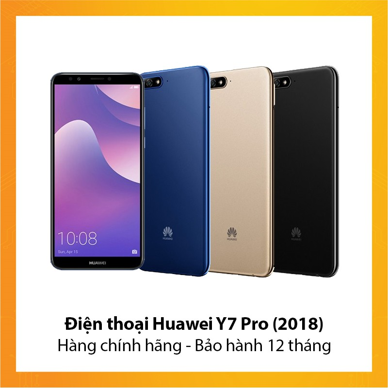 Điện thoại Huawei Y7 Pro (2018) - Hàng chính hãng - Bảo hành 12 tháng - 10080401 , 1019148160 , 322_1019148160 , 3990000 , Dien-thoai-Huawei-Y7-Pro-2018-Hang-chinh-hang-Bao-hanh-12-thang-322_1019148160 , shopee.vn , Điện thoại Huawei Y7 Pro (2018) - Hàng chính hãng - Bảo hành 12 tháng