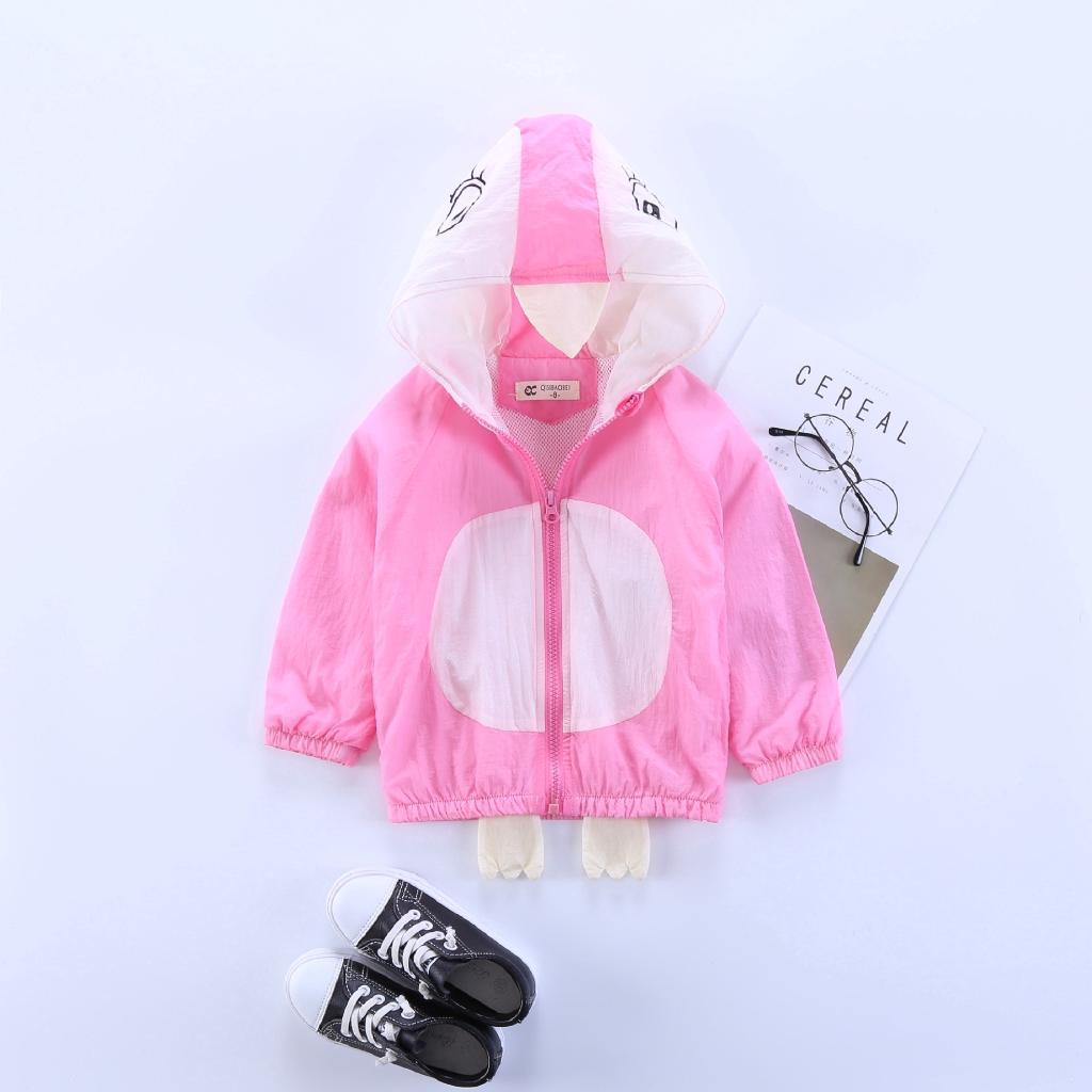 Sunscreen Coat Kids Children Long Sleeve UV Jacket 713#