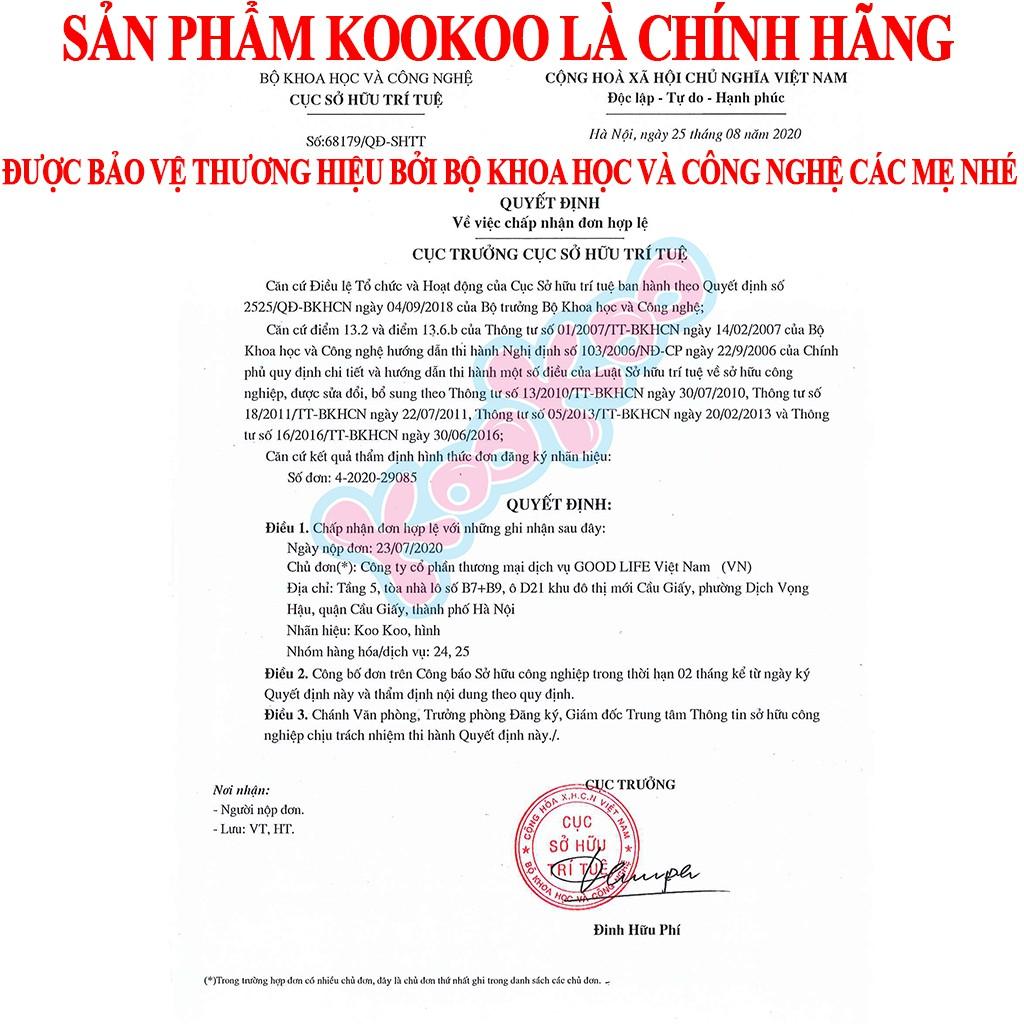 Nhộng Chũn Cho Bé KooKoo, Quấn Chũn Cho bé Giúp Bé Ngủ Ngon
