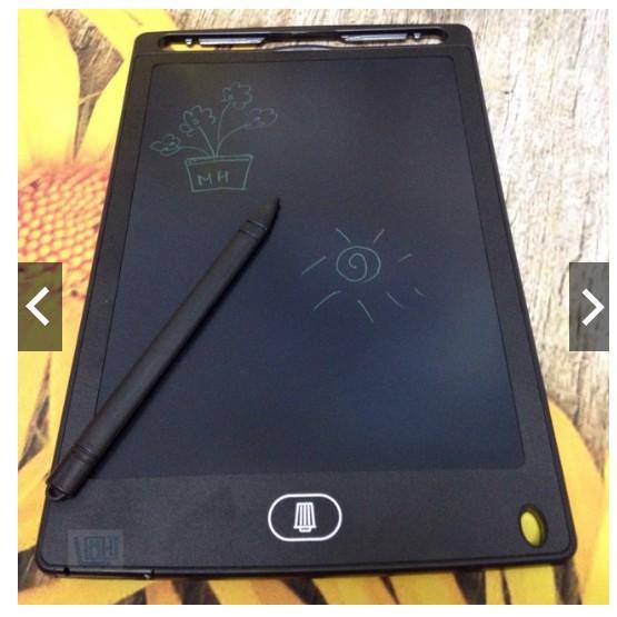 Bảng Viết Thông Minh - Bảng Vẽ Điện Tử Bé Sử Dụng AN TOÀN - SẠCH SẼ - Không BỤI BẨN- Màn hình 8.5 inch
