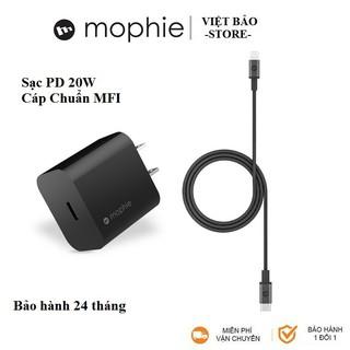 Sạc Nhanh 20W cho iphone 12, Chính hãng Mophie [Bảo hành 24 tháng]