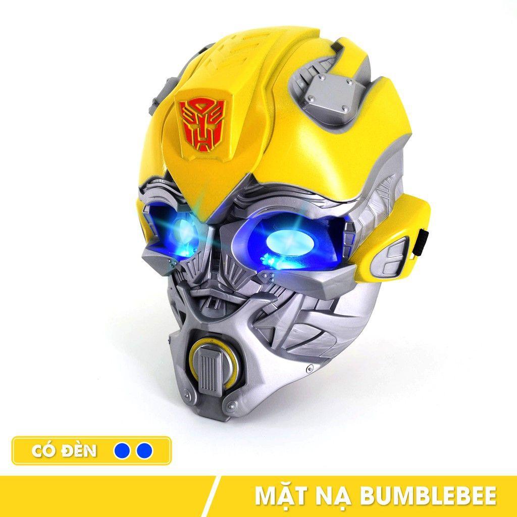 Mặt nạ đồ chơi hóa trang nhân vật Bumblebee cho trẻ em lứa tuổi 3+ nhựa PP an toàn