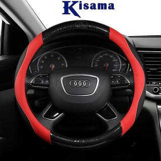 Bọc vô lăng KISAMA chính hãng chất liệu da cao cấp Mẫu LT02 thumbnail