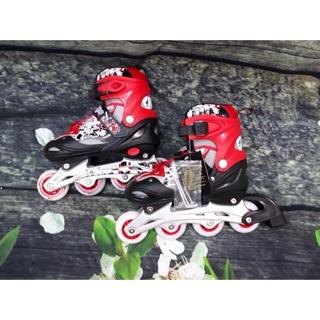 Giày Trượt Patin Longfeng 906 đỏ