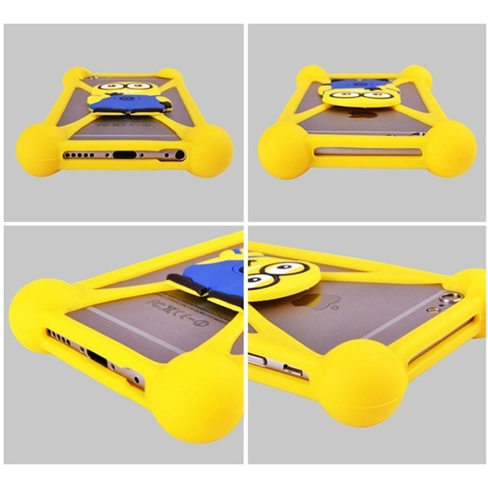 Ốp lưng silicon hình thú dành cho tất cả điện thoại [Đơn 50k tặng kẹp tóc Hàn Quốc cực xinh]