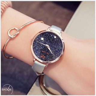 [CHÍNH HÃNG] Đồng hồ nữ Wilon dây da mềm mặt sao trời thumbnail