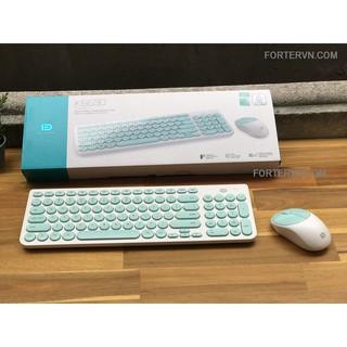 Bộ bàn phím chuột không dây FORTER IK6630 – Chính hãng cao cấp