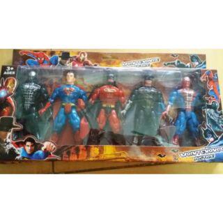 Đồ chơi siêu nhân – 5 anh hùng siêu nhân
