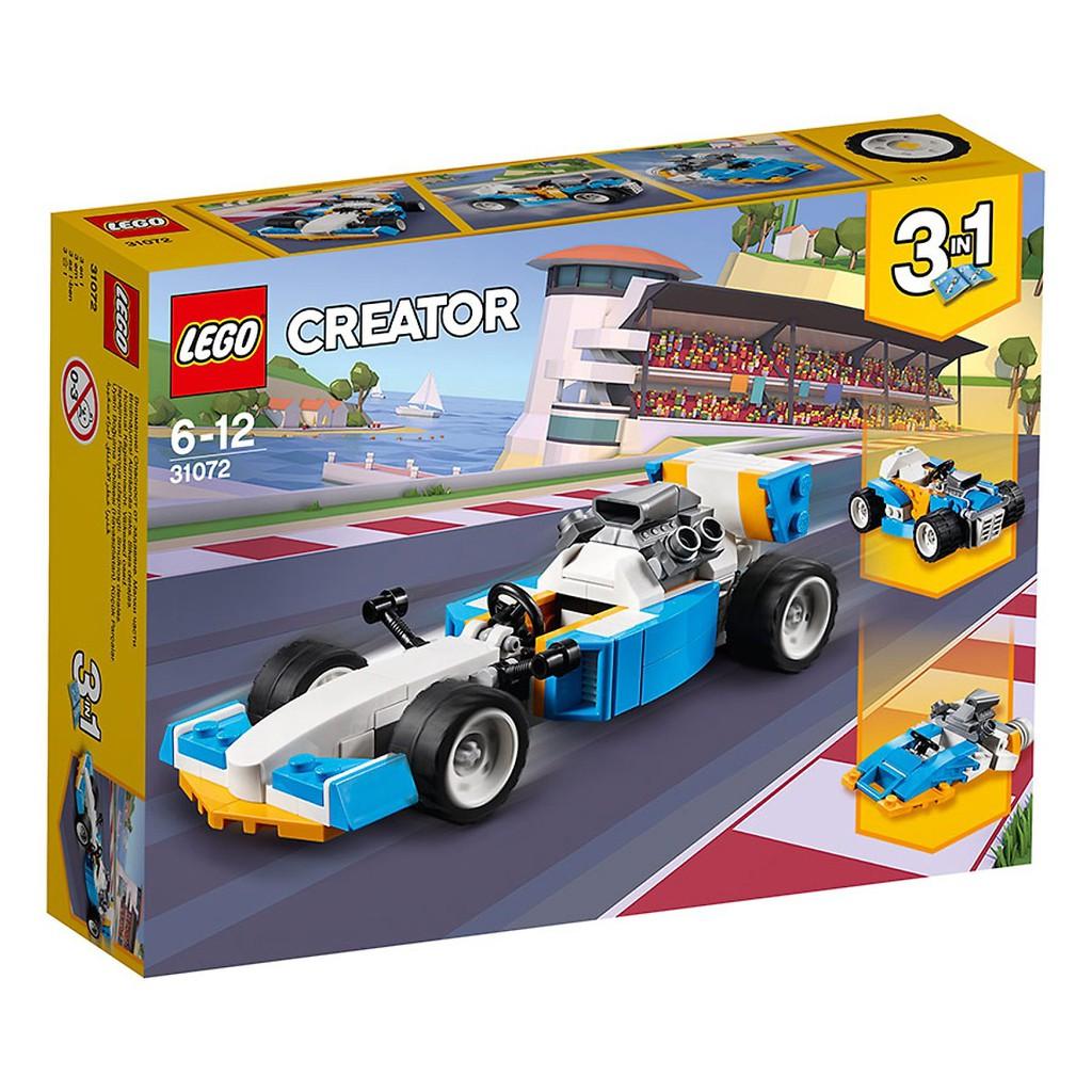 Đồ Chơi Lắp Ráp LEGO 109 Chi Tiết Xe Đua Công T