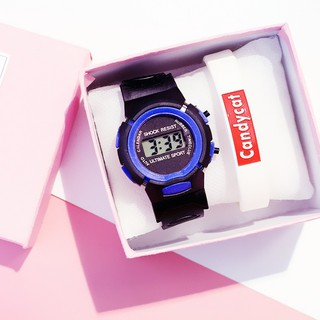 Đồng hồ nam nữ Candycat điện tử thông minh DH74 thời trang trẻ em