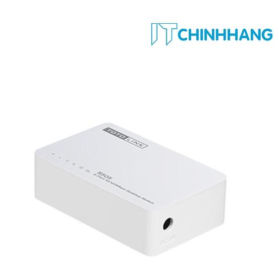 Switch ToToLink S505 / 5-Port 10/100Mbps - HÃNG PHÂN PHỐI CHÍNH THỨC