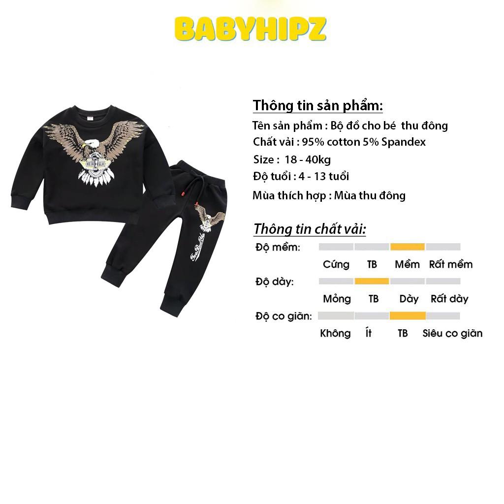 Bộ Đồ Bé Trai, Đồ Bộ Đùi Quần Jogger Bé Trai Chất Vải Siêu Mát 2 Màu Cho Bé 5-14 Tuổi Từ Babyhipz