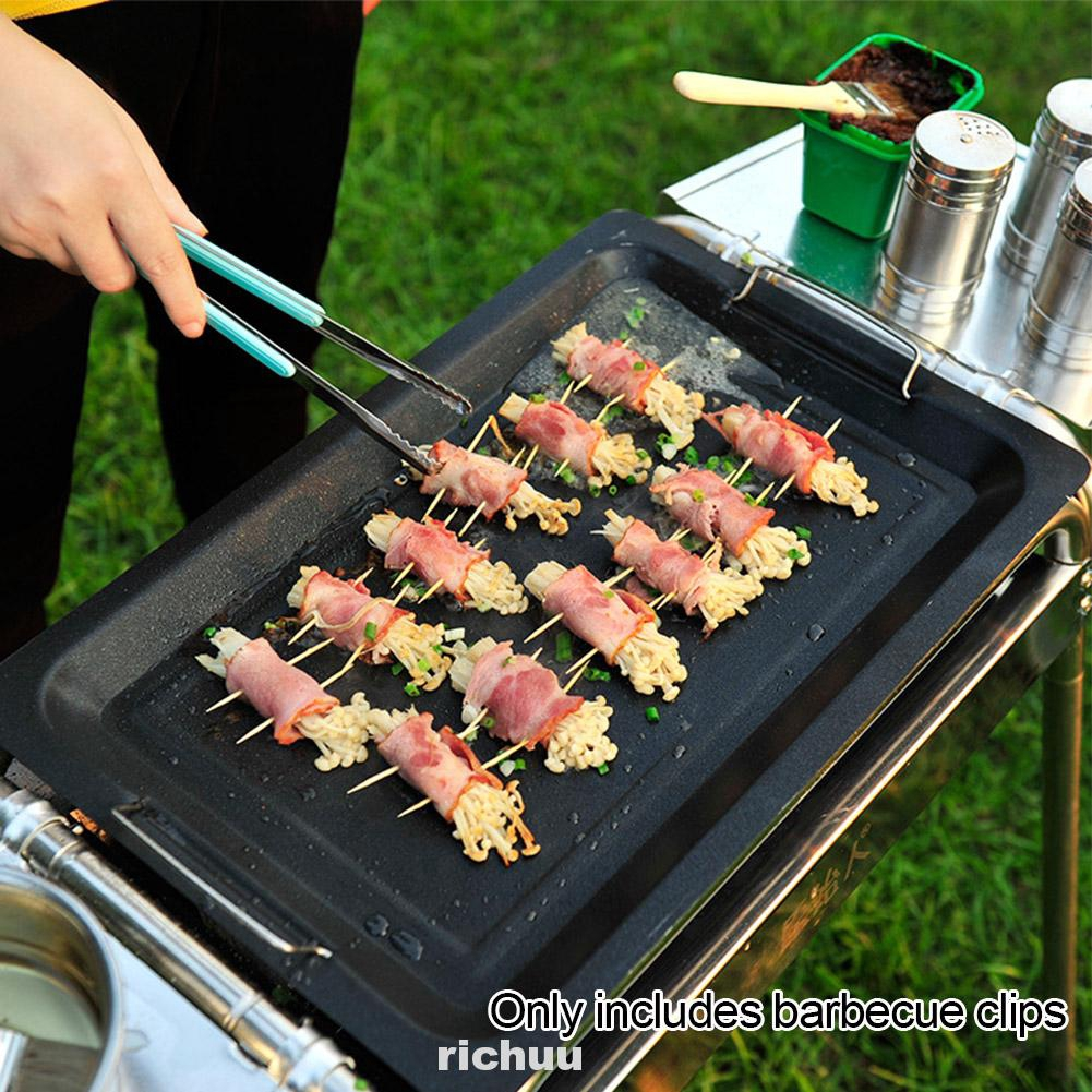 Barbecue Korean Style Clinic Cooking Durable Practical Multifunctional Food Tongs