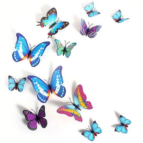 Set 12 bướm nam châm 3D trang trí tủ lạnh hoặc dán tường mã số 085 - 2409009 , 116922768 , 322_116922768 , 65000 , Set-12-buom-nam-cham-3D-trang-tri-tu-lanh-hoac-dan-tuong-ma-so-085-322_116922768 , shopee.vn , Set 12 bướm nam châm 3D trang trí tủ lạnh hoặc dán tường mã số 085