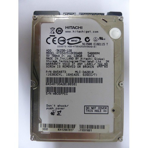 Ổ cứng laptop HDD 80Gb 120Gb 160Gb 250Gb 320Gb 500Gb