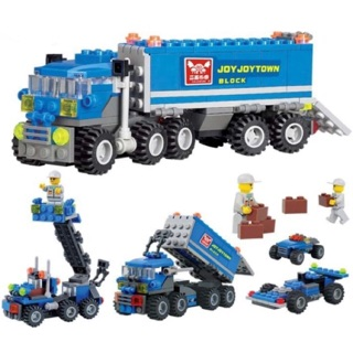 Lắp ghép Lego xe tải