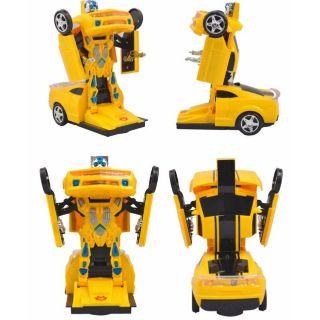 Xe robot biến hình 2 in 1 loại lơn chạy pin