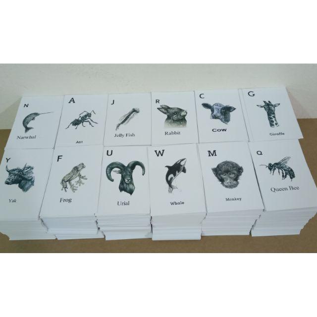 [ 31 THẺ GIẤY CỨNG PHỦ BÓNG BỀN ĐẸP ]Thẻ Animal 4D+ , thẻ động vật thực tế ảo 4D ( 31 hình ảnh dành cho bé )