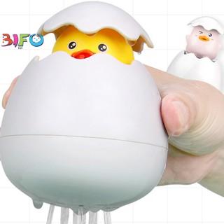Đồ chơi nhà tắm trứng phun nước vui chơi cùng bé khi tắm