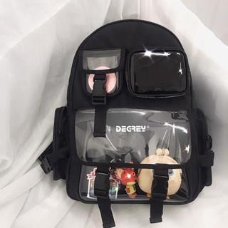 [Tặng móc khóa + sticker] Balo Degrey Basic Backpack – Ba lô nam nữ XUBL032