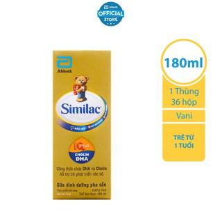 Thùng 48 Hộp Sữa nước Similac Gold Label 180ml hộp
