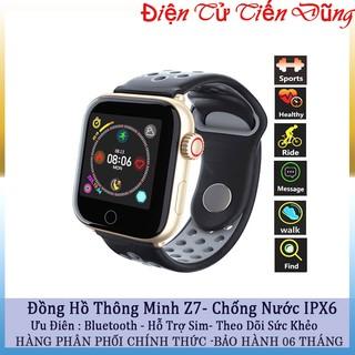 Đồng hồ thông minh z7 chống nước IPX67 theo dõi sức khoẻ