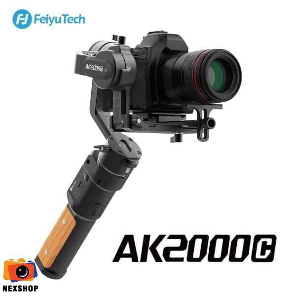 Gimbal chống rung máy ảnh Feiyu AK2000C 3-Axis Gimbal Stabilizer | Chính hãng | Tặng gậy cầm tay trị giá 500k