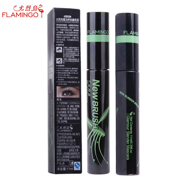 ◙۞Authentic flamingos magic comb three-dimensional dense mascara waterproof and sweat out long growth makeup is not diz
